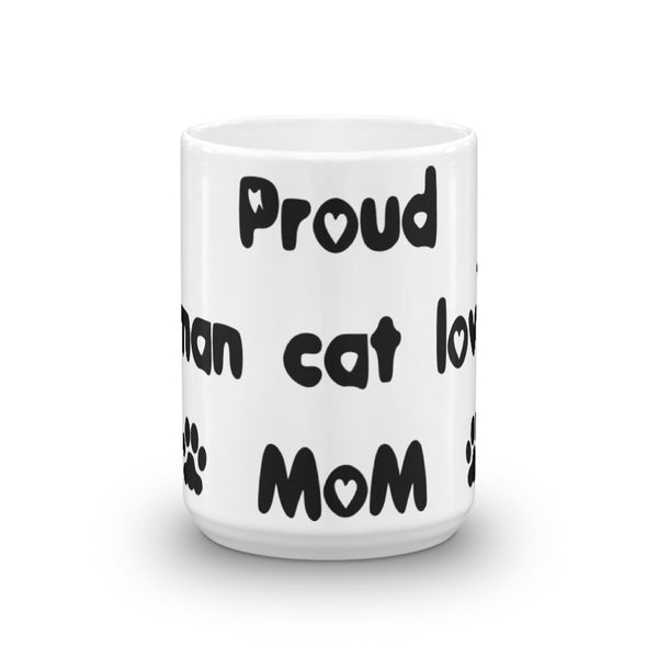 Proud Birman cat loving Mom - Mug