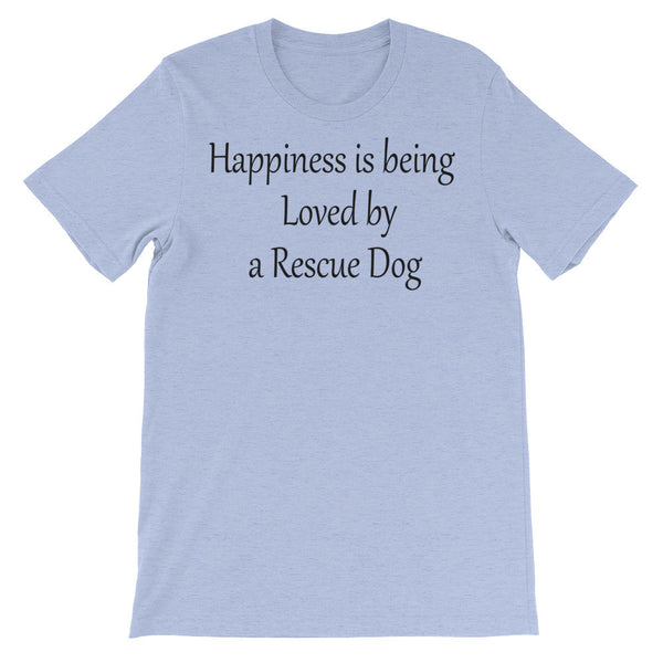 Loved by Rescue Dog -  rescue dog themed - pet themed  T shirt