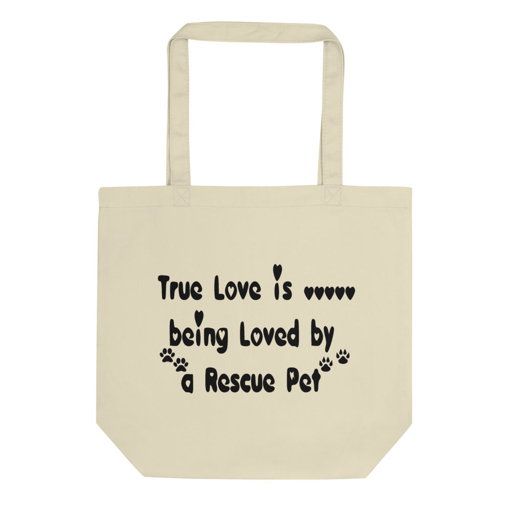 Rescue Pet themed - dog - cat lover cool Tote Bag