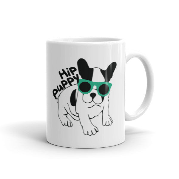 Original Hip Puppy Mug logo - coffee cup