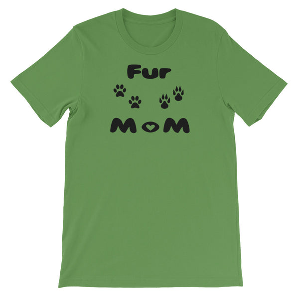 Fur MoM -Short-Sleeve Pet Themed Unisex T-Shirt