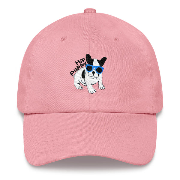 Original Hip Puppy logo - Dog - Pet themed unique baseball cap - hat,