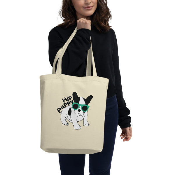 Puppy -  Pet themed - cool unique dog lover Eco Tote Bag - Gift