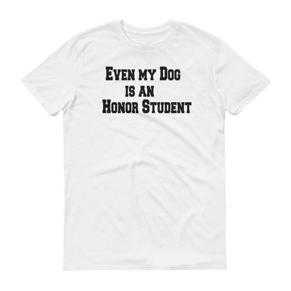 Cute pet themed dog statment T shirt.