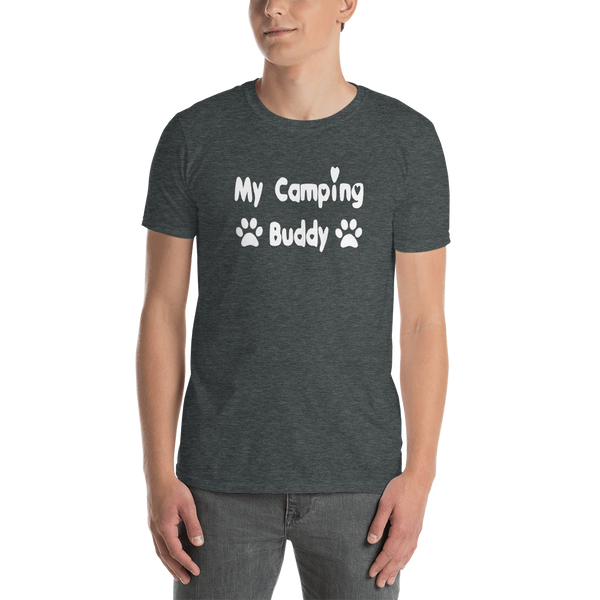 My Camping Buddy - Short-Sleeve - Pet themed - Unisex T-Shirt