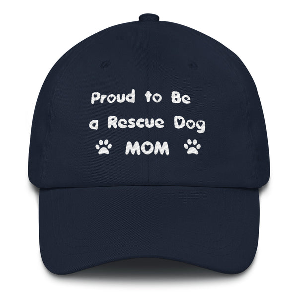 Dog - Rescue Pet themed unique Mom baseball cap - hat, dog themed gift