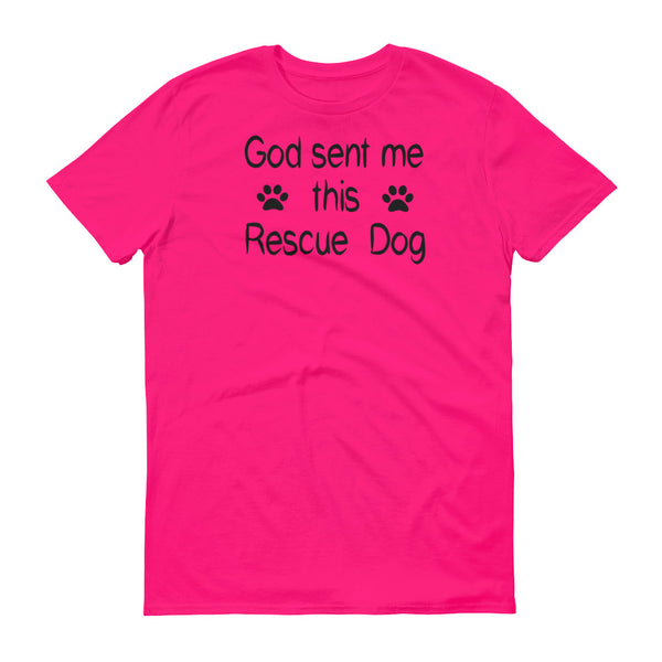 Dog lover obsessed and blessed  Resuce Dog shirt gift