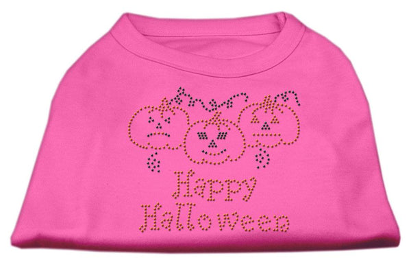 Happy Halloween-Rhinestone design Made in USA-Dog Shirt