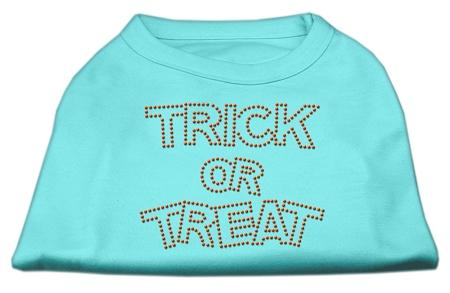 Trick or Treat Halloween-Rhinestone design Made in USA-Dog Shirt