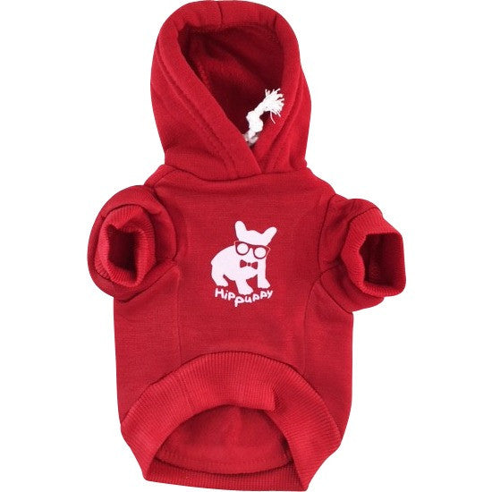Constructed of soft, warm cotton with ribbed waist and sleeves. These comfy hoodies will help keep your pet, safe, dry, and warm
