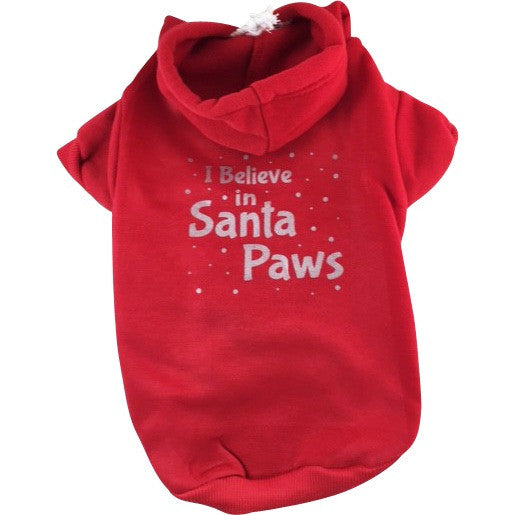 Santa Paws - Pet themed - Christmas, Dog, Cat Hoodie, Gift Made in USA