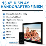 "15.4"" HD DIGITAL PHOTO FRAME"