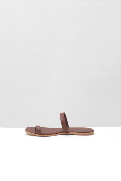 PIPER Sandal Dark Brown
