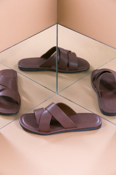 NOLAN Sandal Brown