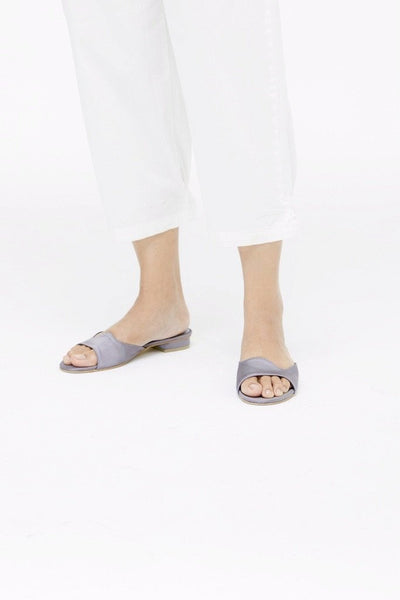 EDITH Sandal Slate Satin