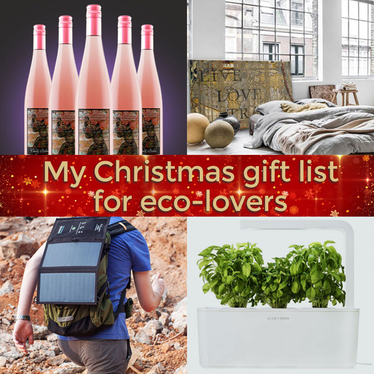 My Christmas gift list for eco-lovers🎄