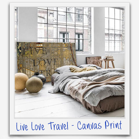 Live Love Travel - affordable art