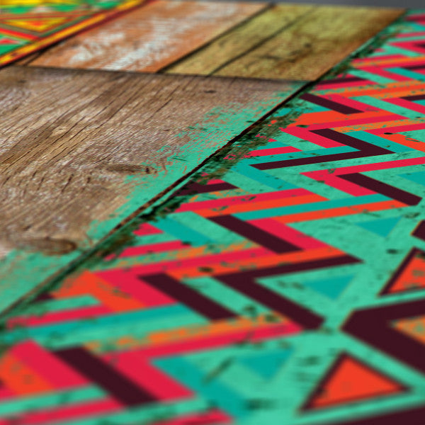 Indian Wood (Aztec pattern) | Reclaimed Wood style