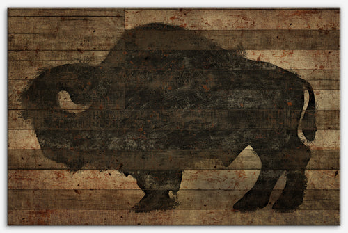 Buffalo Old - Canvas Print