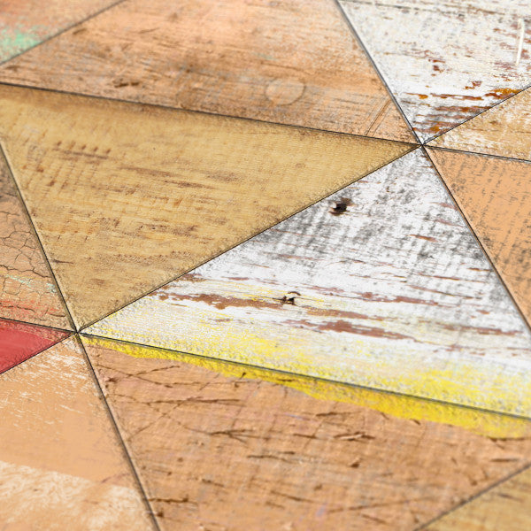 Reclaimed Triangle Pattern - Geometric art 3
