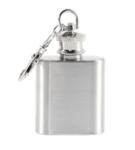 Hip Flask - Key Chain <br>(1 oz) - Bar Stop Canada - 1
