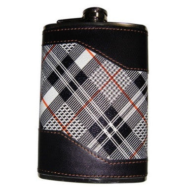 Hip Flask - High Fashion 2 <br>(8 oz) - Bar Stop Canada