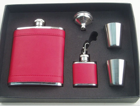Hip Flask - Fashionista Gift Set (7 oz) - Bar Stop Canada