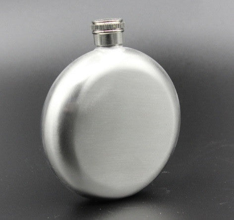Hip Flask - Round <br>(6 oz) - Bar Stop Canada - 1