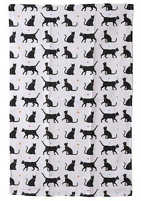 I Love My Cat Tea Towel - hanrattycraftsgifts.co.uk