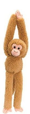 Keel Toys 65cm Hanging Brown Monkey Soft Toy - hanrattycraftsgifts.co.uk