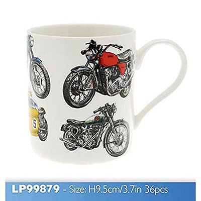 Mens Classic Boxed Mug Motorbike - hanrattycraftsgifts.co.uk