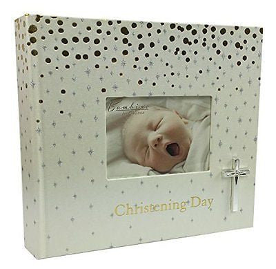 Baby Christening Photo Album Gift 6 x 4 New