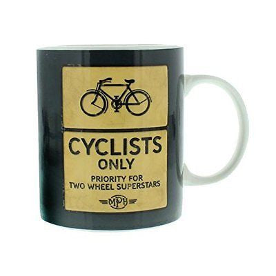 Vintage Style Coffee or Tea Mug Gift - Cycling Fan - hanrattycraftsgifts.co.uk
