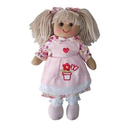 Powell Craft - Small Rag Doll Flower Pot - hanrattycraftsgifts.co.uk