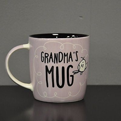Eggcellent Purple Grandma Mug - hanrattycraftsgifts.co.uk