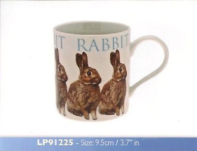 leonardo   Fine China Mug in a box - Rabbit Design - hanrattycraftsgifts.co.uk