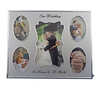 Our Wedding Photos Frame To Have and to Hold - hanrattycraftsgifts.co.uk