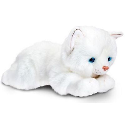 Keel Toys Tiffany Laying Cat Soft Toy 25cm by Keel Toys - hanrattycraftsgifts.co.uk
