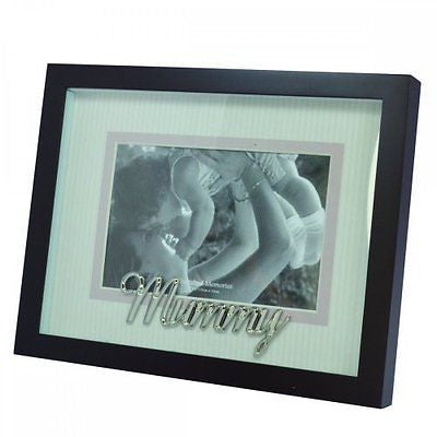 Cherished Memories Glass Photo Frame - Mummy - hanrattycraftsgifts.co.uk