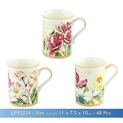 flower garden mug one supplied - hanrattycraftsgifts.co.uk