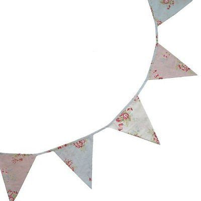 Bunting - Mixed Floral - 5m - Powell Craft - hanrattycraftsgifts.co.uk