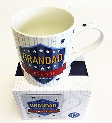 grandad love you mug - hanrattycraftsgifts.co.uk