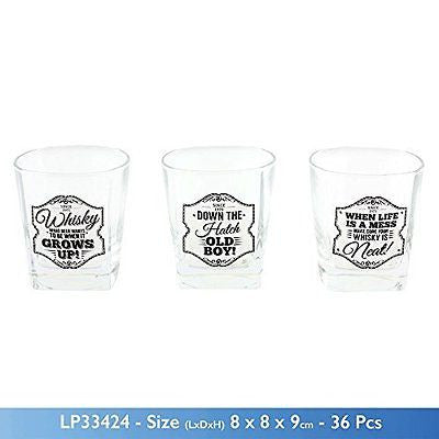 Brand New Gents slogan Whiskey Spirits Glass Tumber 3 designs (When Life is a me - hanrattycraftsgifts.co.uk