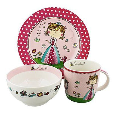 Rachel Ellen Collection Breakfast Set - Fairy Design - hanrattycraftsgifts.co.uk