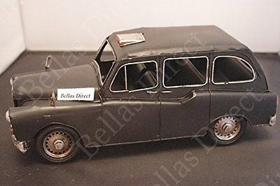 London souvenir London Black Cab Taxi Metal Ornament Large - hanrattycraftsgifts.co.uk