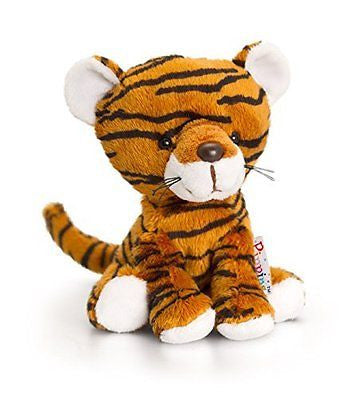 Keel Toys 14 cm Pippins Tiger Soft Toy - hanrattycraftsgifts.co.uk