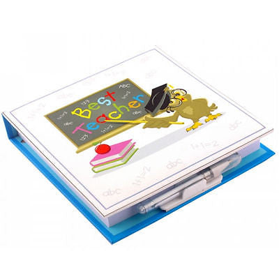 Best Teacher Memo Pad and Pen - hanrattycraftsgifts.co.uk