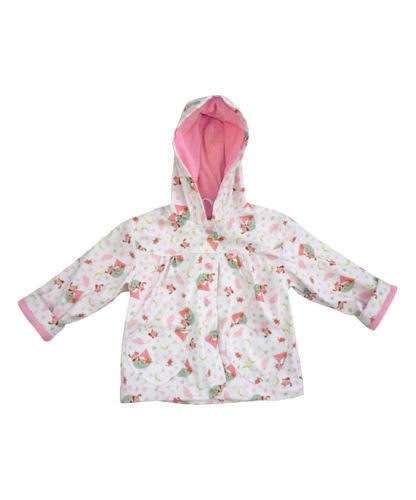 POWELL CRAFT OWL AND PUSSYCAT PRINT Raincoat Shower Mac Age 1-2 Years - hanrattycraftsgifts.co.uk