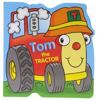 Brown Watson Tom the Tractor Board Book - hanrattycraftsgifts.co.uk