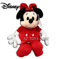 "Disney Minnie Mouse Sitting Plush - Sitting Height 11"" - hanrattycraftsgifts.co.uk"